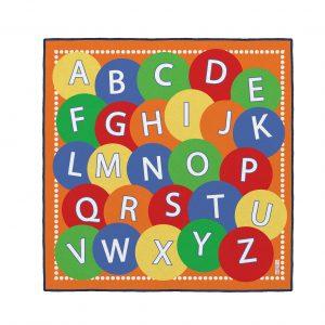 Covor gradinita Invata  Alfabetul