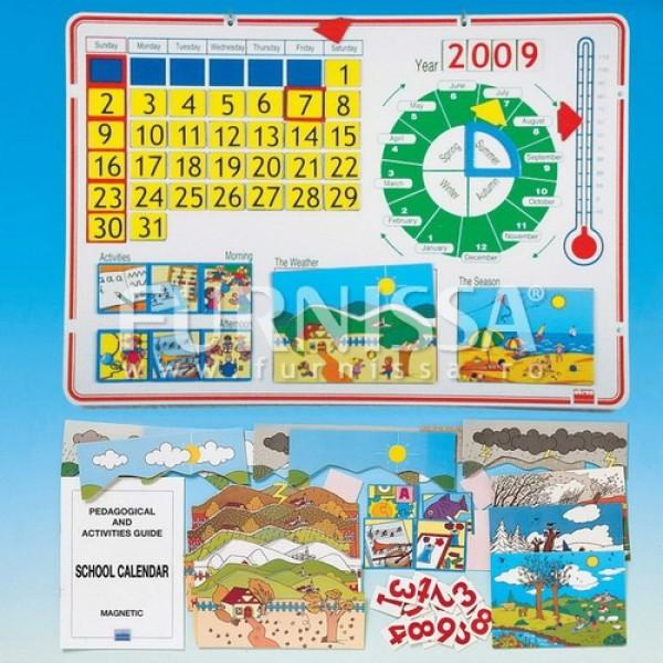 Calendar Magnetic Urias cu Anotimpuri