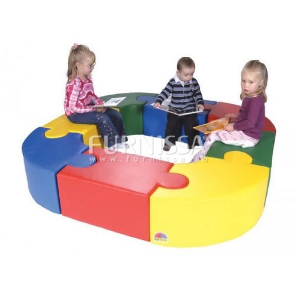 Canapea cerc puzzle