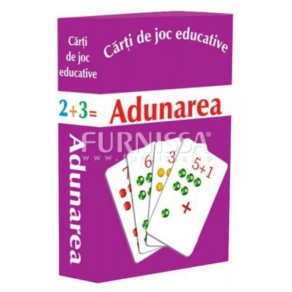 CARTI DE JOC EDUCATIVE- ADUNAREA
