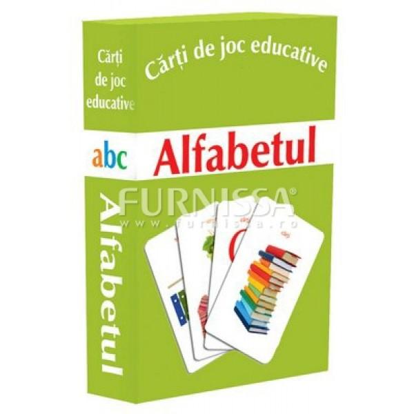 CARTI DE JOC EDUCATIVE- ALFABETUL