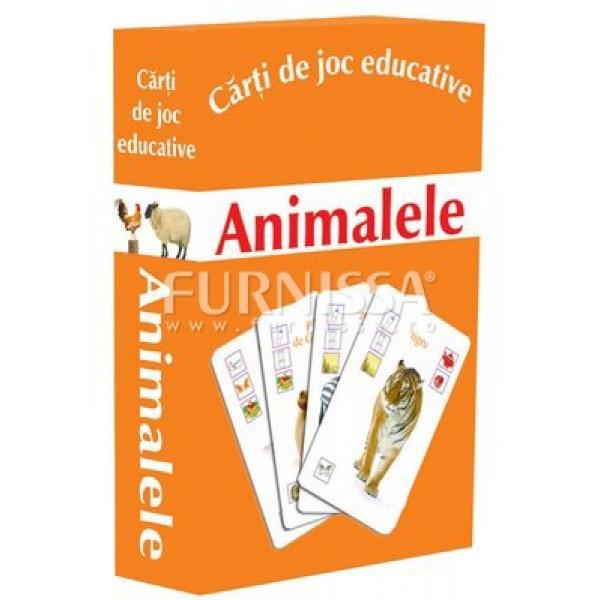 CARTI DE JOC EDUCATIVE- ANIMALELE