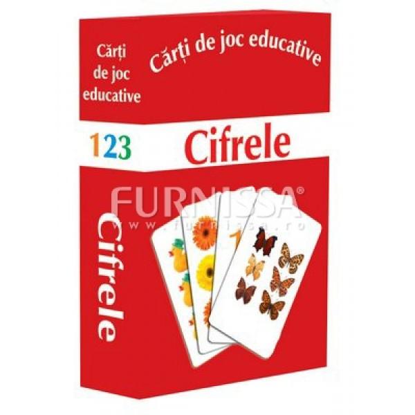 CARTI DE JOC EDUCATIVE- CIFRELE