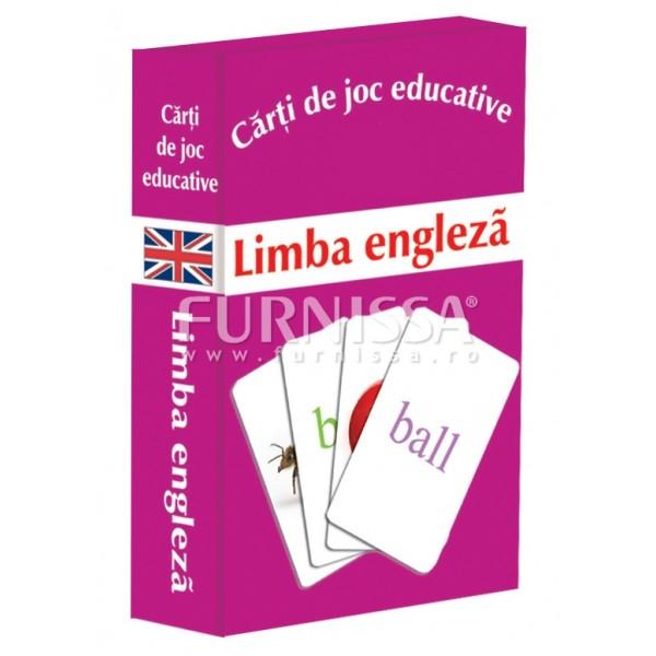 CARTI DE JOC EDUCATIVE-LIMBA ENGLEZA