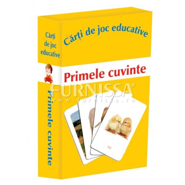 CARTI DE JOC EDUCATIVE-PRIMELE CUVINTE