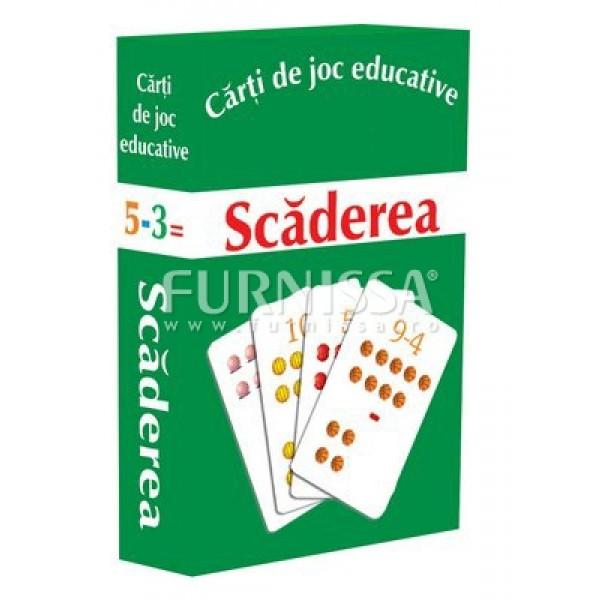 CARTI DE JOC EDUCATIVE – SCADEREA