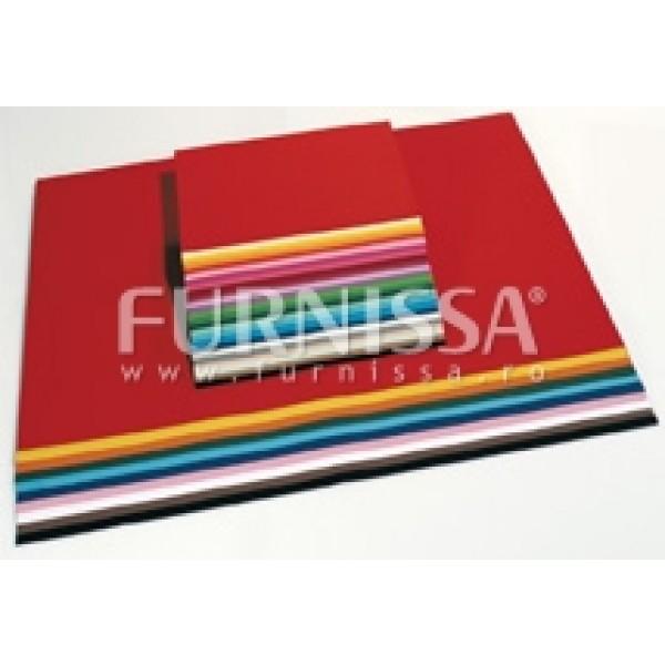 Carton Colorat 50x70cm 100 Buc – 10 Culori
