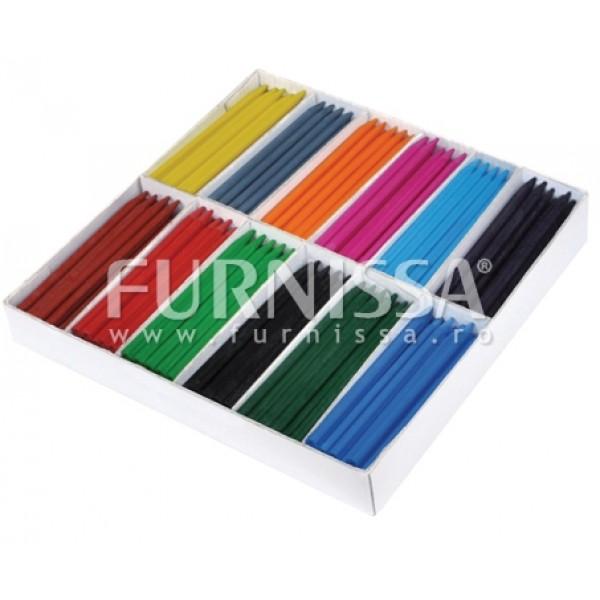 Creioane Cerate 12 Culori – 300 Buc