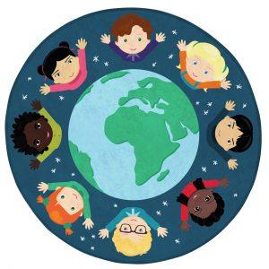 Covor gradinita Copiii Lumii
