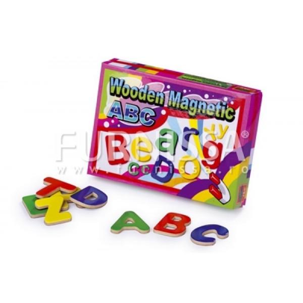 Litere din Lemn Magnetice