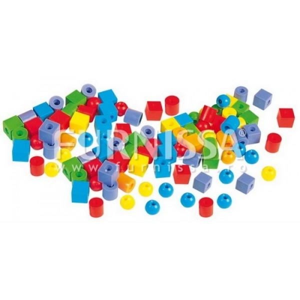 Margele din Plastic Pentru Sortat si Insiruit