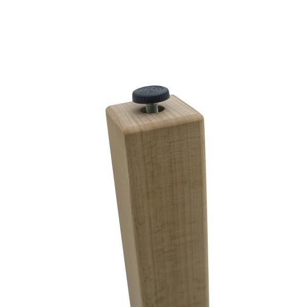 Masa gradinita lemn patrata T3 galbena 14903