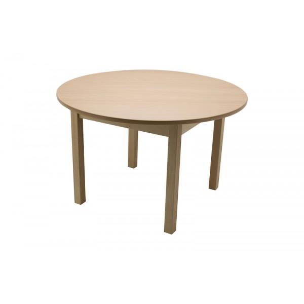 Masa gradinita lemn rotunda T3