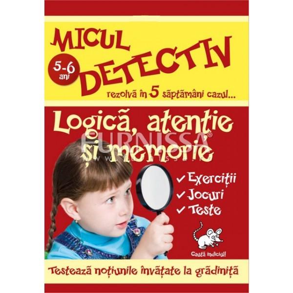 MICUL DETECTIV – LOGICA, ATENTIE SI MEMORIE 02