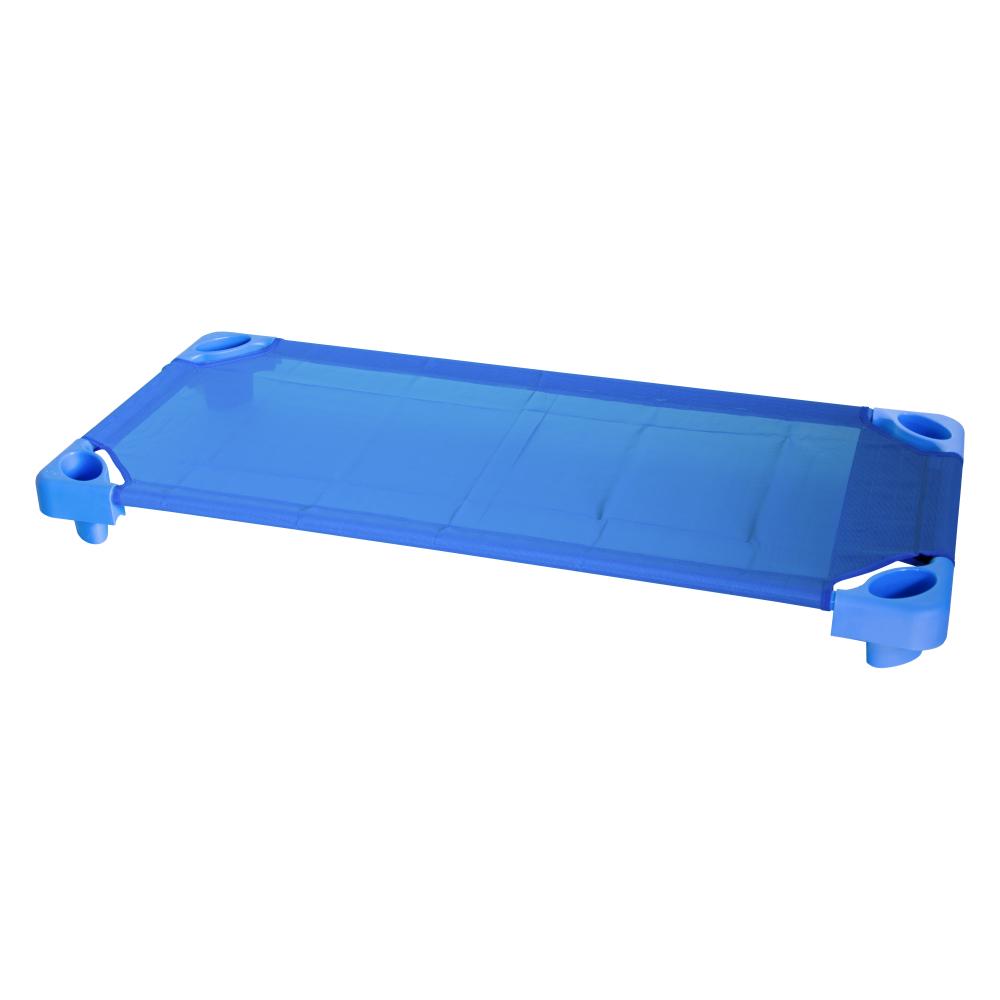Pat gradinita stivuibil albastru, H150