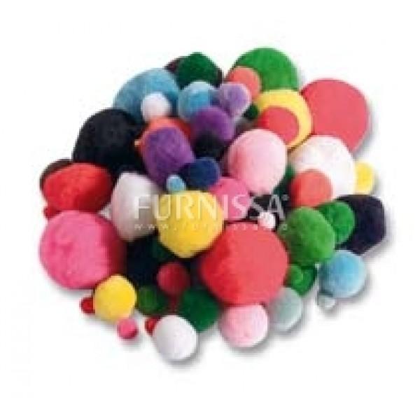 Pompoane colorate