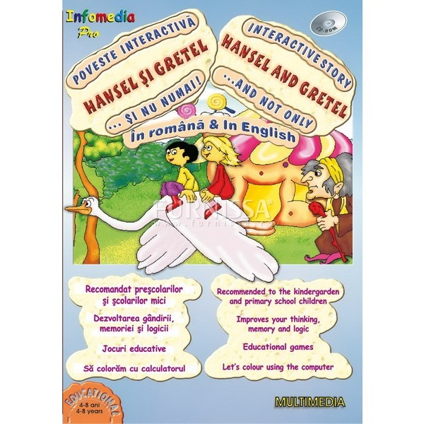 """Povesti interactive si nu numai – Hansel si Gretel"""