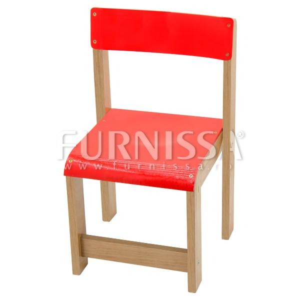 Scaun din lemn gradinita 03