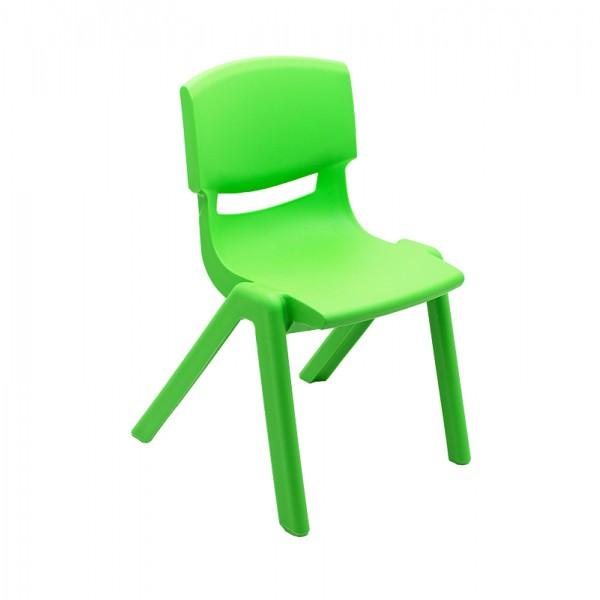 Scaun Gradinita Plastic, T1 Verde