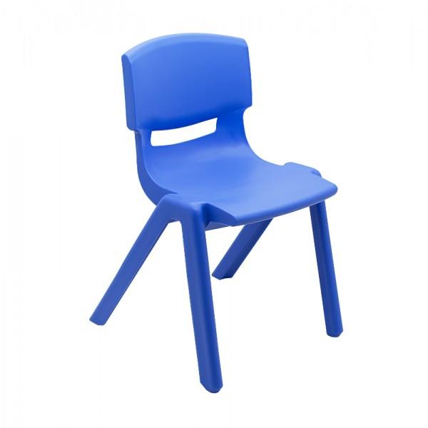 Scaun Gradinita Plastic, T3 Albastru