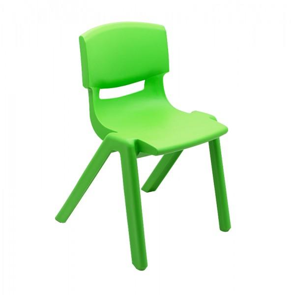 Scaun Gradinita Plastic, T3 Verde