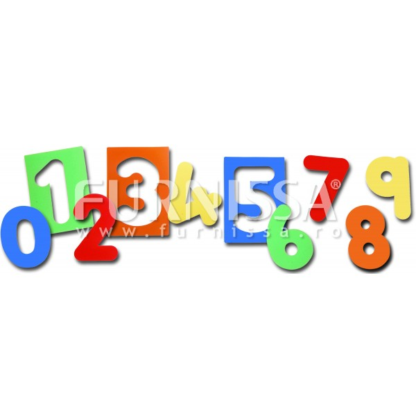 Set 10 Sabloane cu Numere