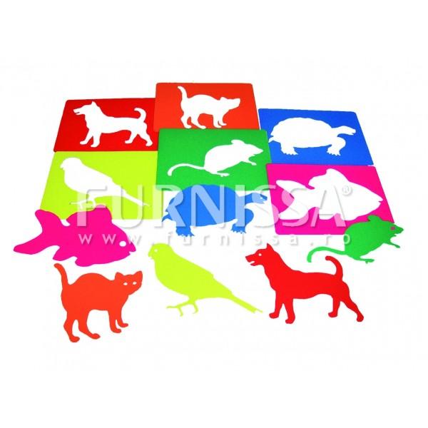 Set 6 Sabloane Animale de Companie