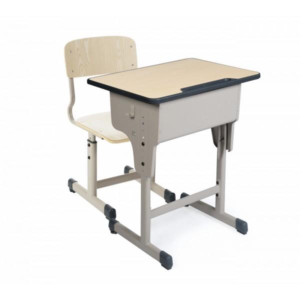 Set pupitru individual reglabil cu scaun individual reglabil pentru elevi 01