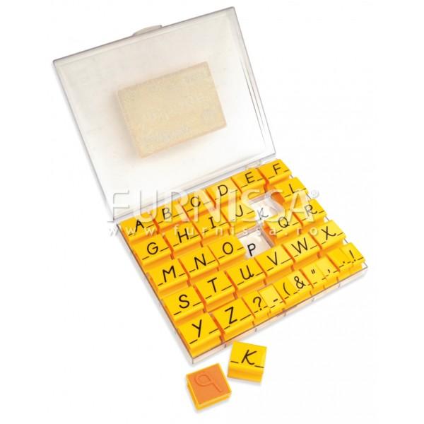 Set stampile cu litere