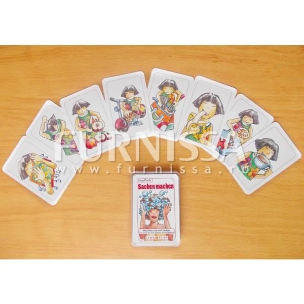 Uno-Joc pentru invatarea verbelor