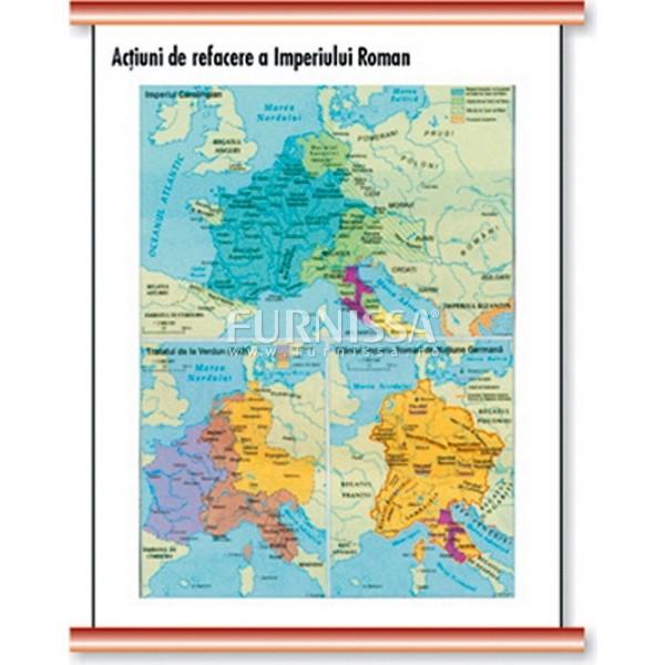 Actiuni de refacerea imperiului Roman