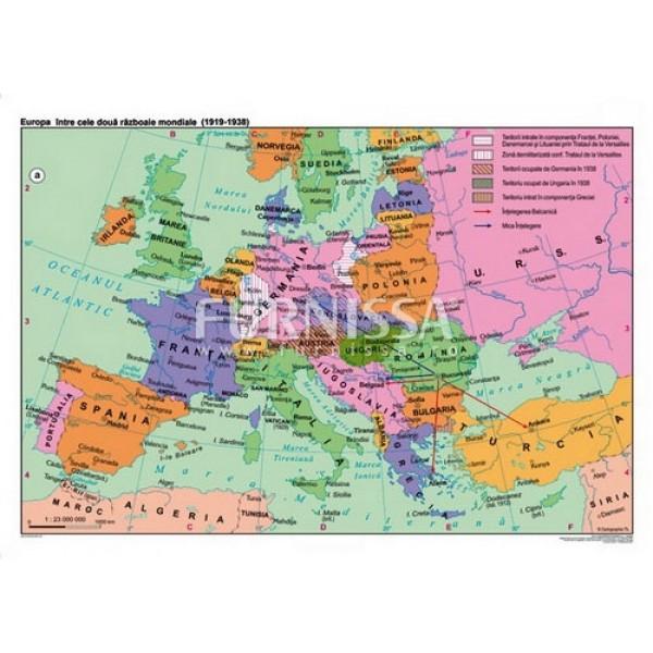 Europa intre cele doua razboaie mondiale