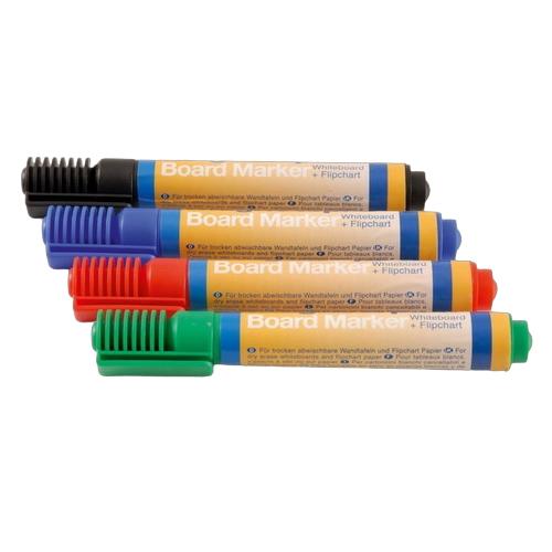Set 4 markere pentru whiteboard