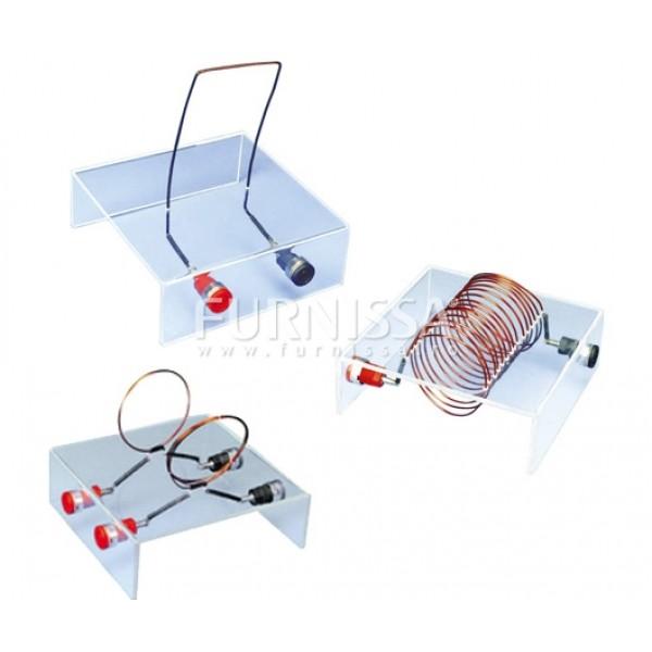 Set aparate pentru studiul campului magnetic