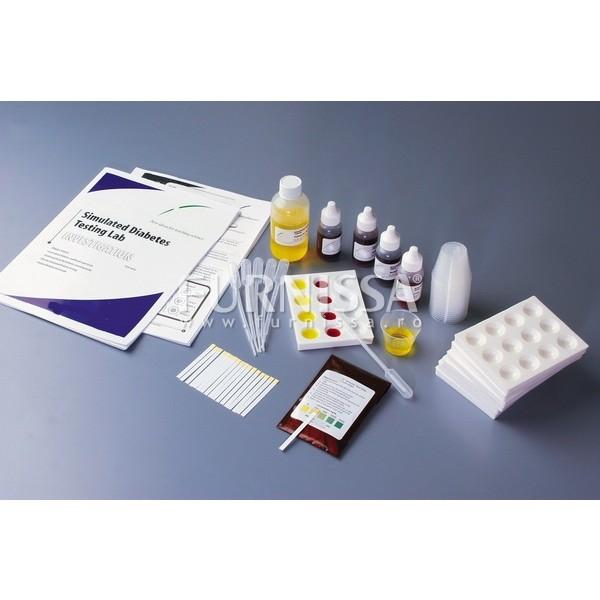 Simularea testarii diabetului