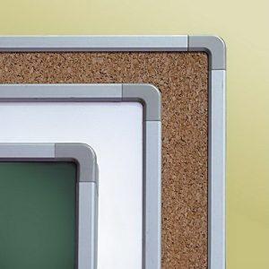 Tabla scolara alba 2500×1000