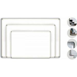 Tabla Scolara Magnetica Alba 2000×1200