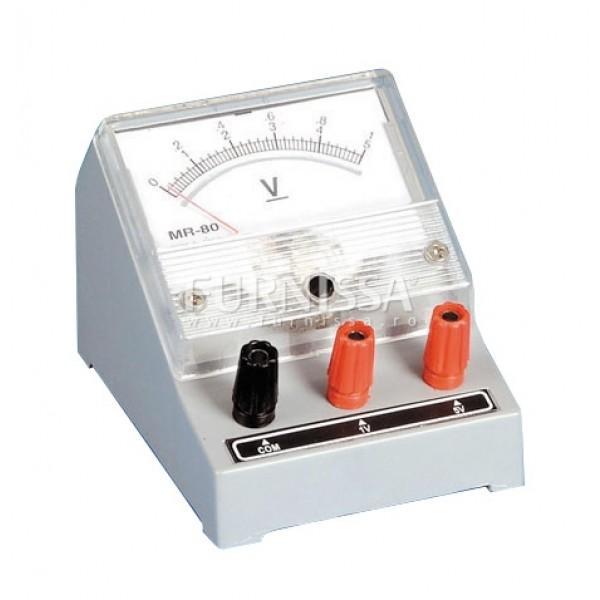 Voltmetru 0-5V / 10V
