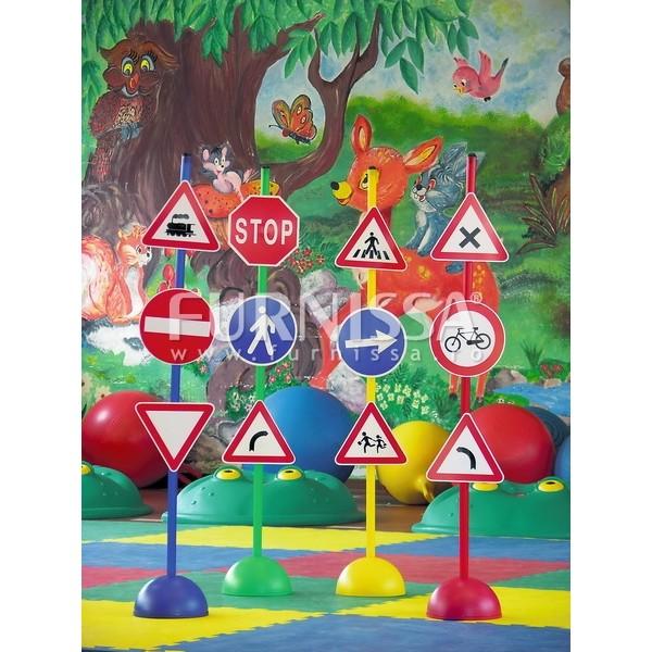 Set 12 semne rutiere