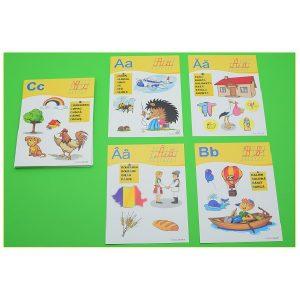 Joc didactic Literele alfabetului