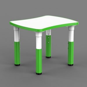Masa Gradinita Reglabila – Fantezie,Verde