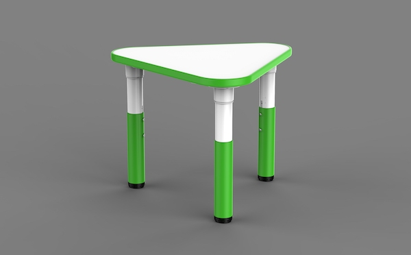 masa din plastic colaborativa pentru gradinite