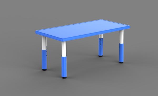 masa din plastic reglabila pentru gradinite