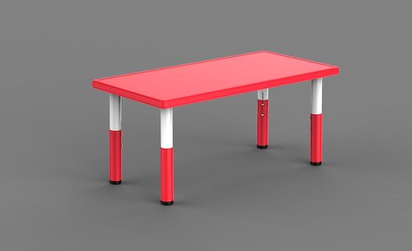 masa dreptunghiulara din plastic pentru copii