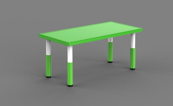 masa reglabila din plastic pentru gradinite