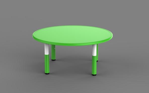 masa rotunda din plastic pentru copii