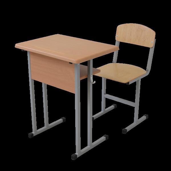 Set mobilier scolar individual – blat Werzalit