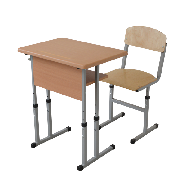 Set mobilier scolar individual reglabil - blat Werzalit